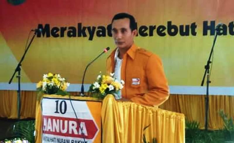 Ketua Panitia Pelantikan, Muhammad Yamin SE M.Si
