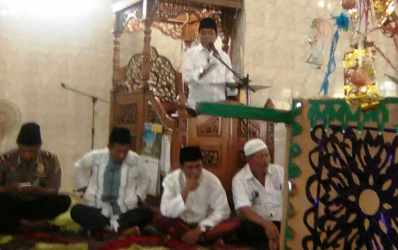 Camat Plampang, Zubaidi S.Sos