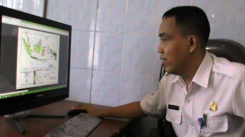 Kepala BMKG Sumbawa Hendriyono, SP