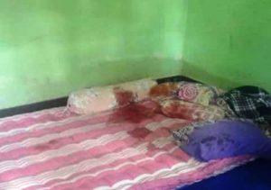 Tempat Tidur korban