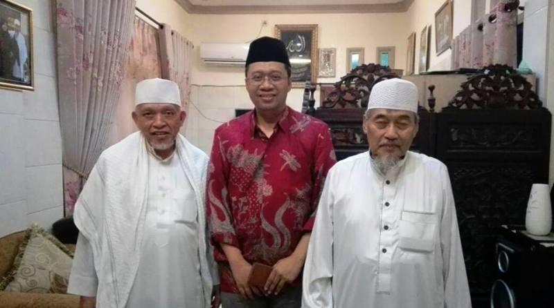 Bersama para tuan guru di Lombok Barat