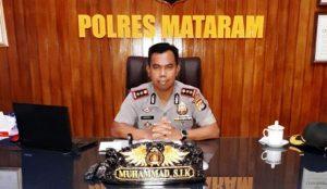 Kapolres Mataram AKBP Muhammad SIK