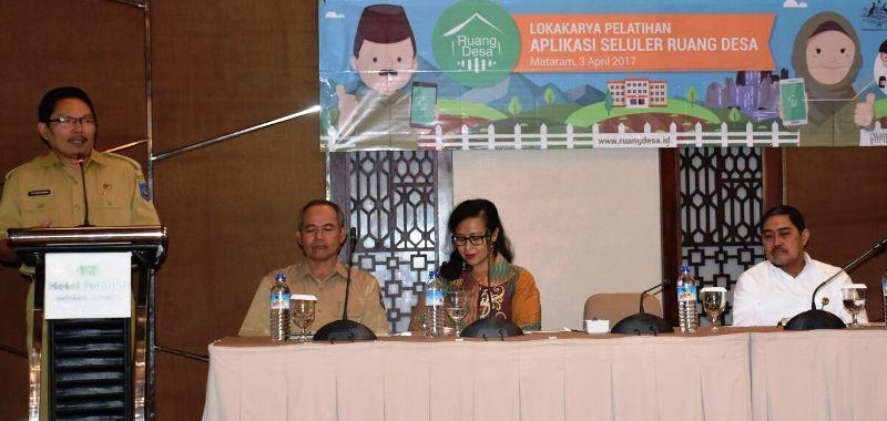 Sekretaris Daerah NTB, Ir. Rosiady Sayuti, Ph.D