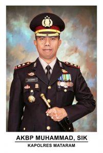 Kapolres Mataram AKBP Muhammad Suhanda