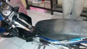 Sepeda motor korban