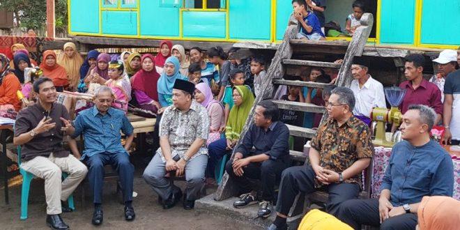 """Rakyat Bertanya Parlemen Menjawab"""" Syuting di Sumbawa"""