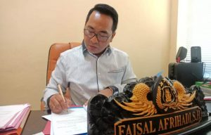 Kasat Reskrim Faisal Afrihadi